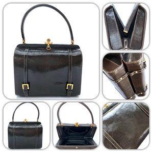 Handbags - Vintage Women's Alligator Leather Doctor Handbag